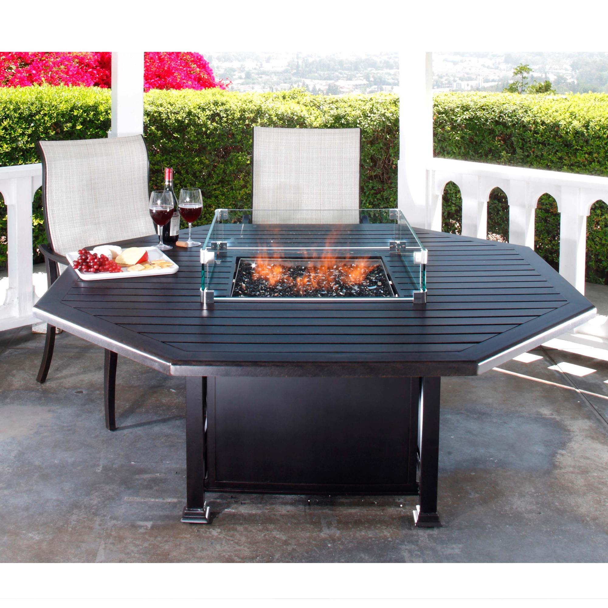 Paso Robles Octagon Dining Fire Table W665 L665
