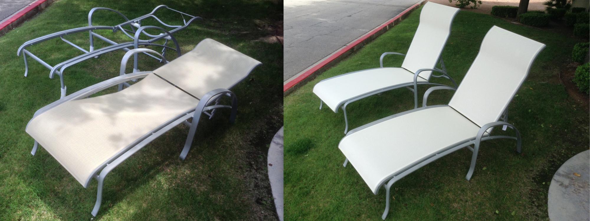 Furniture Sling Repair Mrs Patio Mr Pool And Mrs Patio - Tropitone outdoor furniture