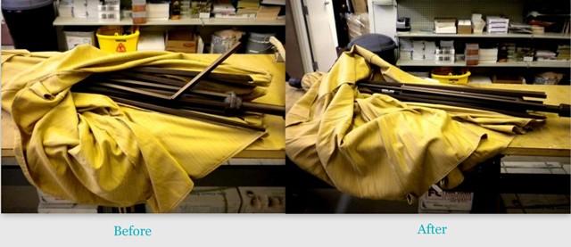 Umbrella Repair Before U0026 After